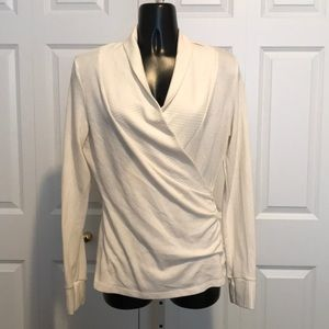One Clothing cross top sweater EUC